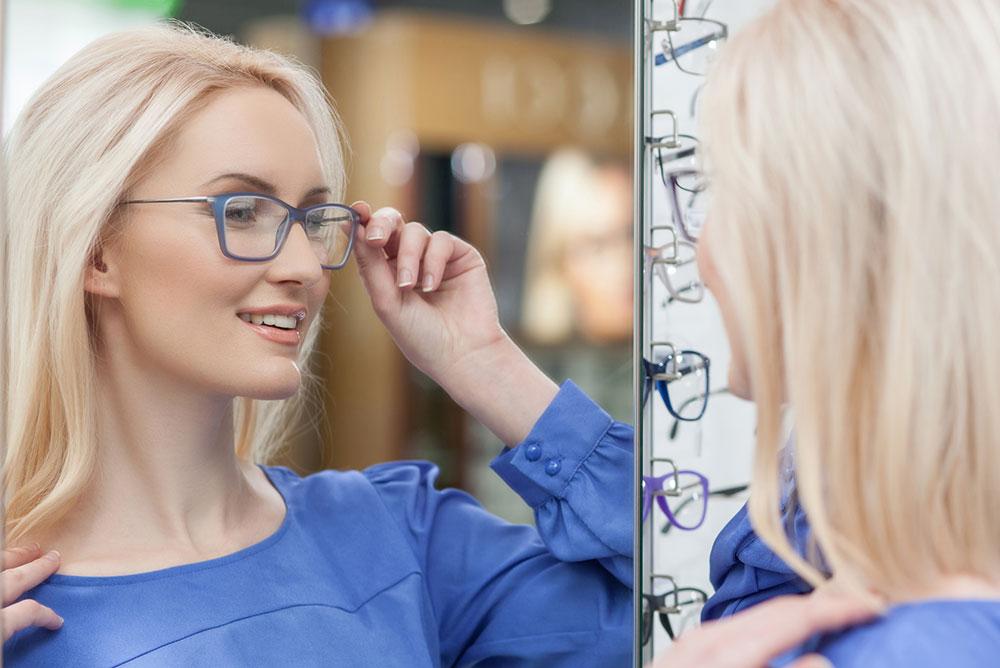 Okulary jednoogniskowe