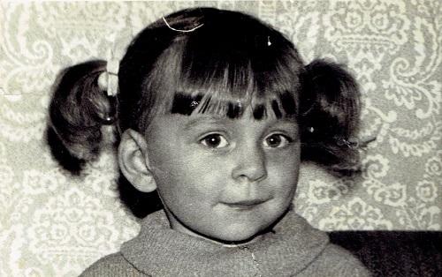 Zdjęcie Małgorzaty Leszczyńskiej jako dziecko
